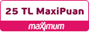 Maximum 25 tl